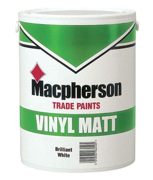 Macpherson vinyl matt emulsion