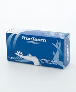 True touch gloves blue