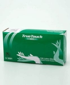 True touch gloves green