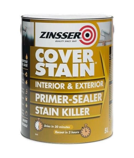 Zinsser Cover Stain Primer Sealer Stain Killer Wilson 39 S Paint 39 S